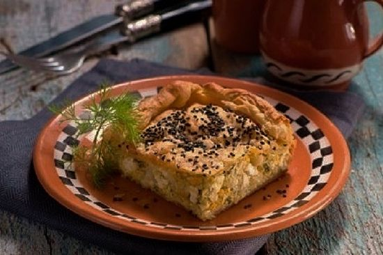 Delicious Leek Pie with Kalathaki Cheese from Lemnos, Cooking Recipes Blog