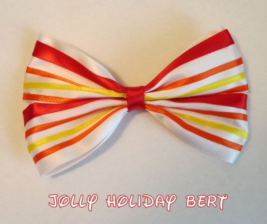 Jolly Holiday Bert Hair Bow Mary Poppins Disney Inspired. $9.00, via Etsy.