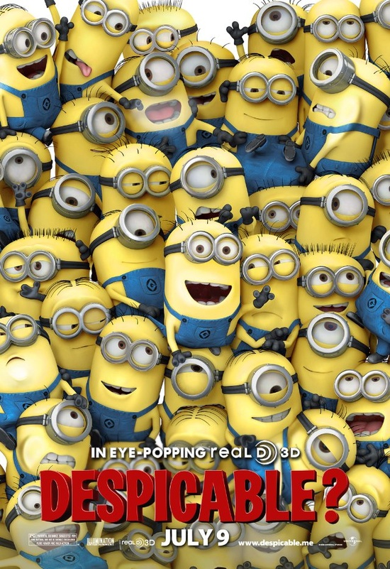 minions from despicable me are the loves of my life