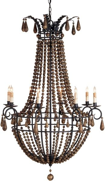 Europa Chandelier: Beach Decor, Coastal Home Decor, Nautical Decor, Tropical Island Decor & Beach Cottage Furnishings. Gorgeous piece!