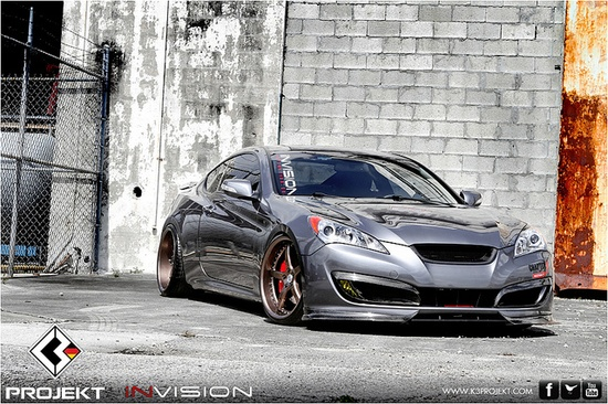 Genesis Coupe / Stitched Production Automotive Photography by Stitched Production, via Flickr