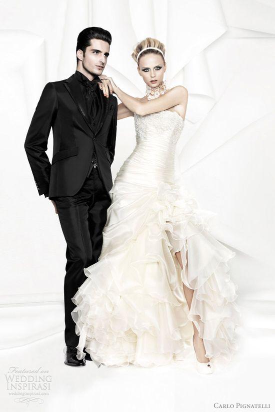 carlo pignatelli wedding dresses 2012