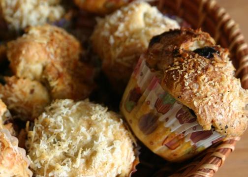 Savory cupcakes