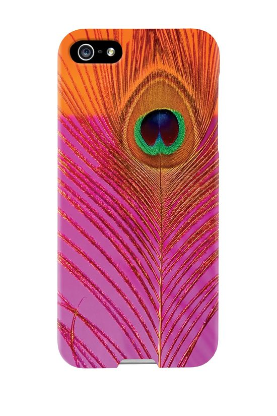 Peacock iPhone 5/5S Case.