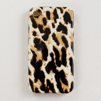 J.Crew Leopard iPhone 4 Case- LOVE IT!
