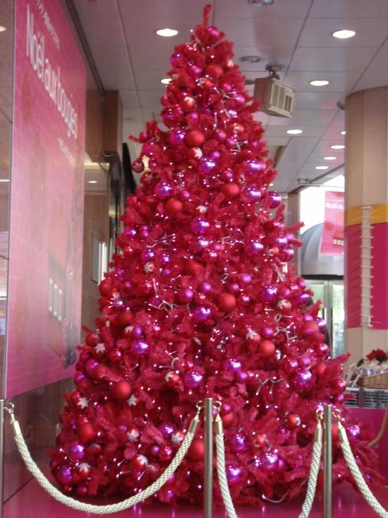 pink ( Christmas tree )