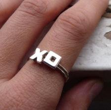 XOXO Stacking rings