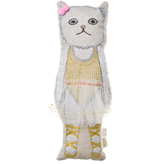 baby cat ballerina doll
