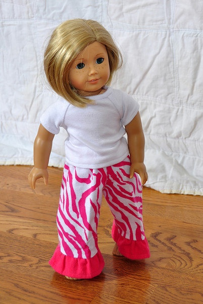 American Girl Doll Pants Add on to your order by AsYouStitch,  cost 7.00