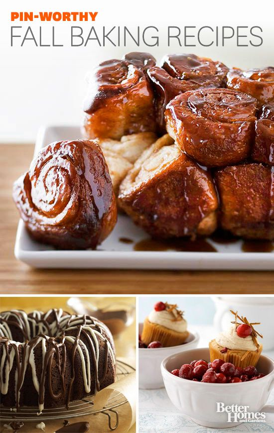 Our Editors agree that these fall baking recipes are must try: www.bhg.com/...