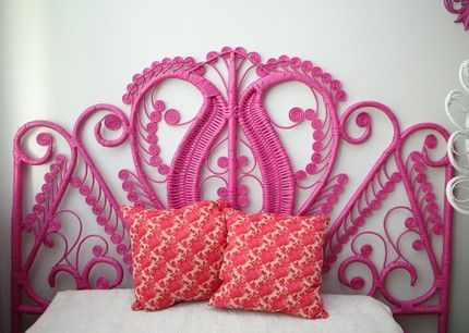 Holy crap, what a headboard. - for Naya