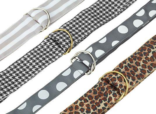 Handmade gift ideas - DIY Ribbon belt