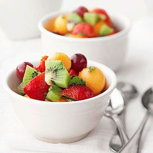 See How to Make a Fruit Bowl Salad