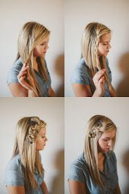 Sincerely, Kinsey: Scrunched Braid Hair Tutorial