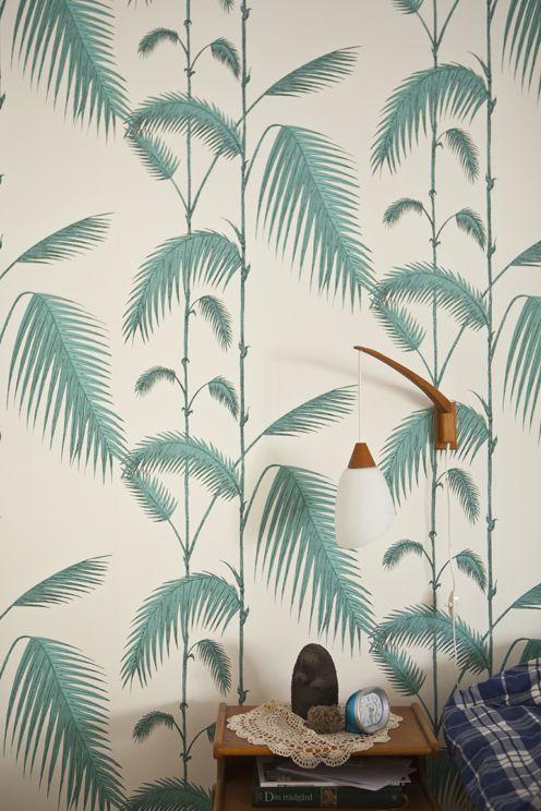 Wallpaper — Fine Little Day. Cole & son Palm wallpaper