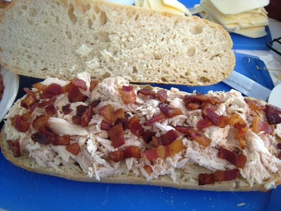 Chicken Bacon Sub