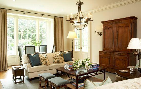 living room - furniture arrangement