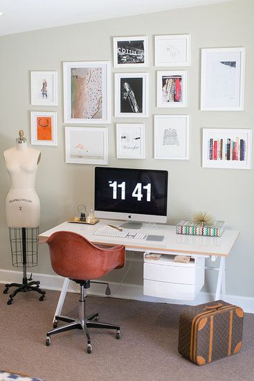 Office Ideas For Home -- a gallery
