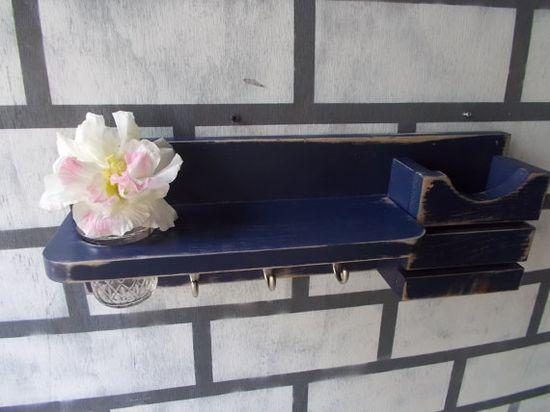 Mail Organizer--Letter Holder--Office decor--Wall Decor--Kitchen decor--message center organizer