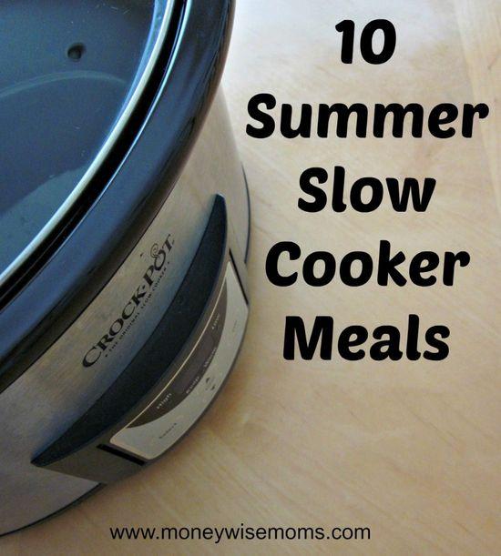 10 Summer Slow Cooker Meals
