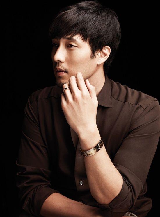 Korean actor So Ji Sub