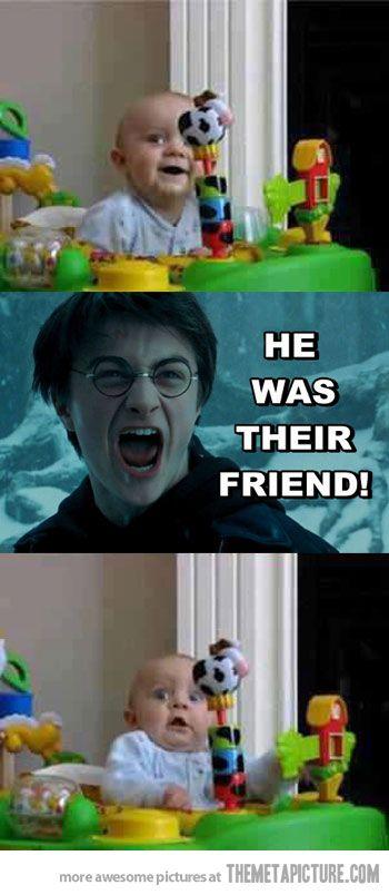 That scene always scares me…