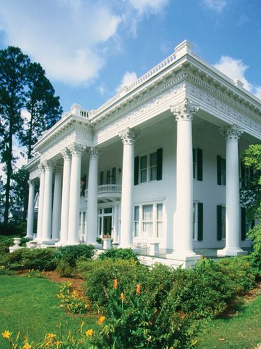 Shorter Mansion in Eufaula, Alabama