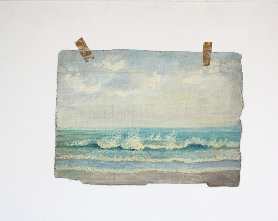 . sea painting .