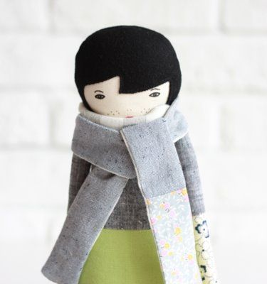 beautiful handmade doll - love :)