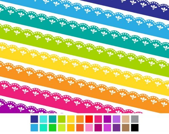 Fancy Lace Ribbons - Luvly Marketplace