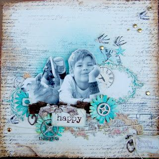 SCRAPBOOK ABUNDANCE: Happy thoughts