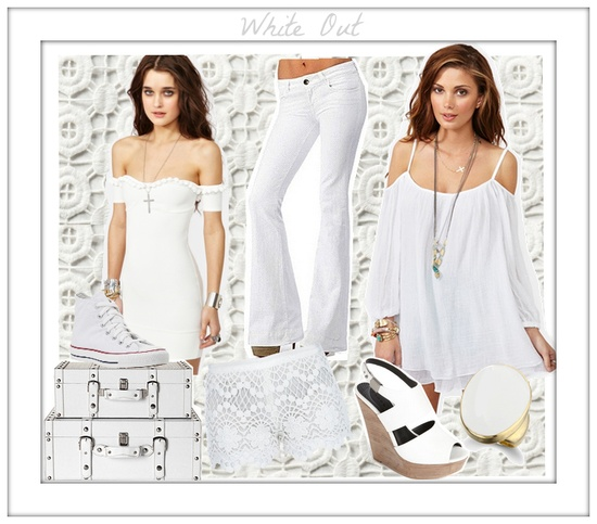 White Hot Summer Style   #summer #fashion #julep