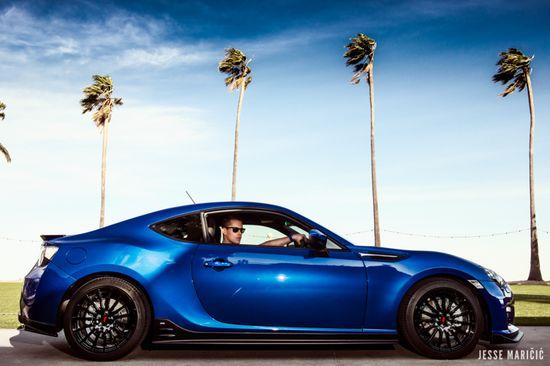 Subaru Blue 2013 FASHION SPORTS CAR