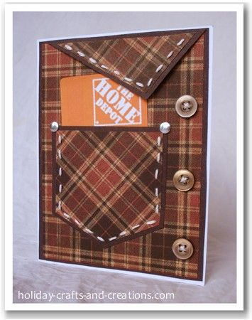 Gift Card Holder for a man