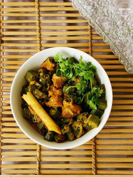 Yummy Food: Bhendi-Gohst ka Salan