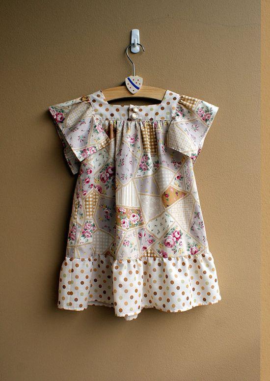 #Etsy #Children #kids #sewing #pattern #dress