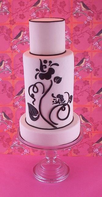 Stunning flower cake