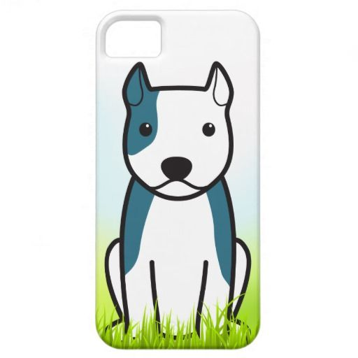 American Staffordshire Terrier Grass iPhone 5 Case from Zazzle.com #dog #animal #american #staffordshire #terrier