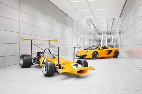 This year British sports car manufacturer McLaren celebrates turing 50 years old.