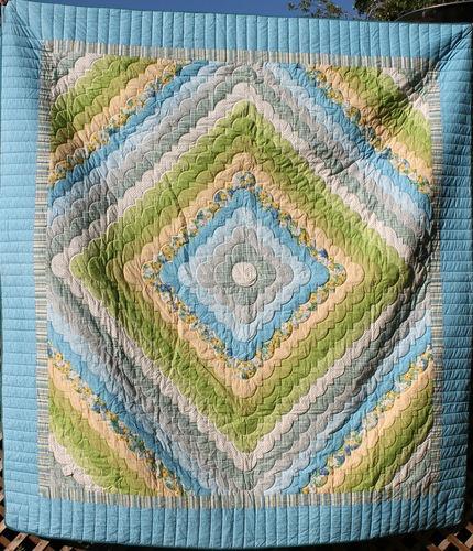 Pennsylvania Amish Handmade Quilt