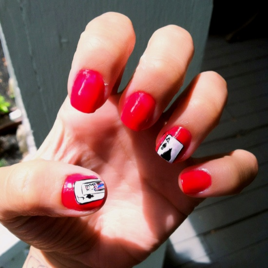 Blackjack Nails!