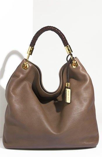 Michael Kors leather hobo handbags fashion