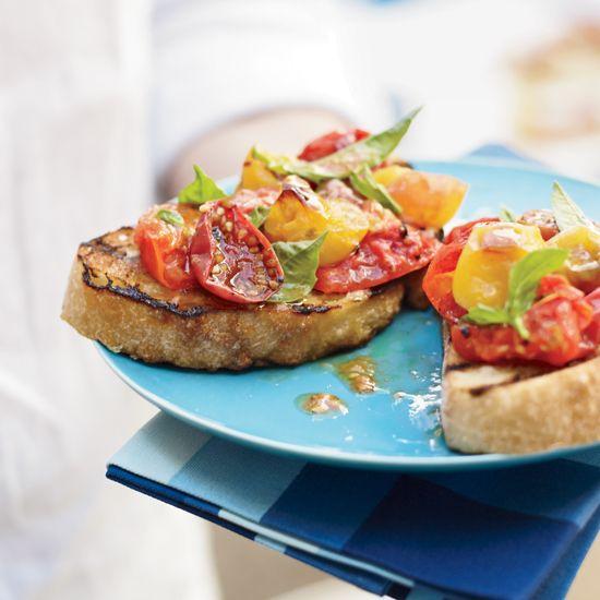 Juicy Grilled Tomatoes // More Great Tomato Recipes: www.foodandwine.c... #foodandwine