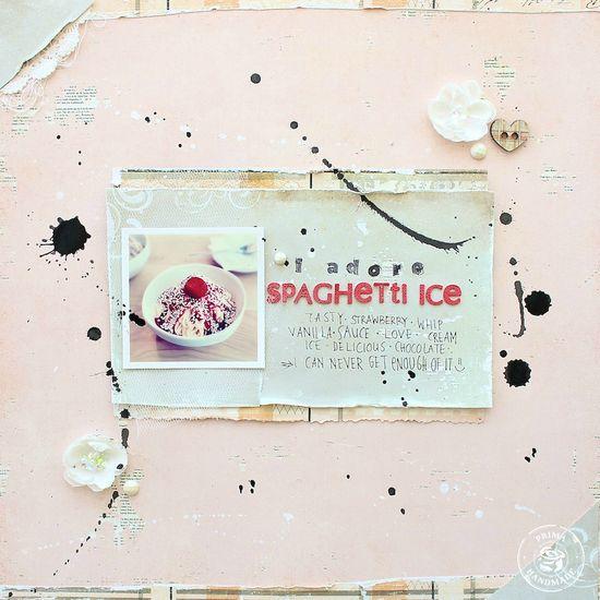 spaghetti ice (prima marketing) - Scrapbook.com