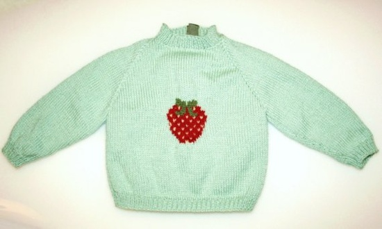 Strawberry & mint! #baby #clothes #strawberry #kids