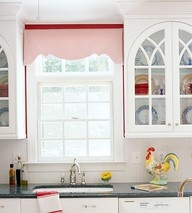 Create A View Designs: Doug & Diane's Kitchen Valances