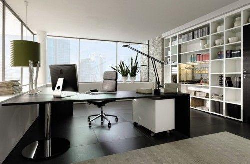 Very modern home office design