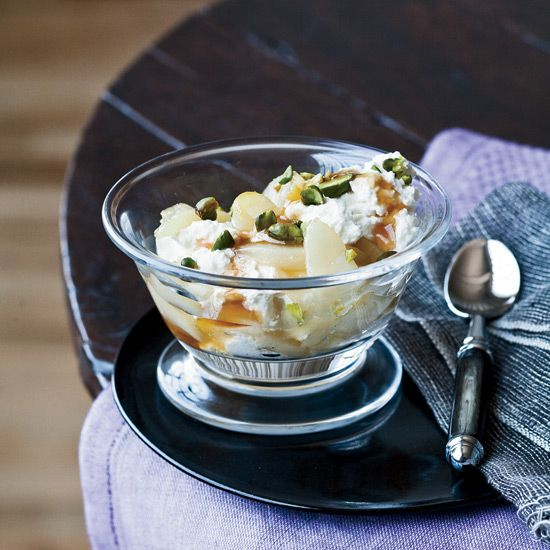 Maple, Pear and Ricotta Parfaits // More Breakfast Recipes: www.foodandwine.c... #foodandwine