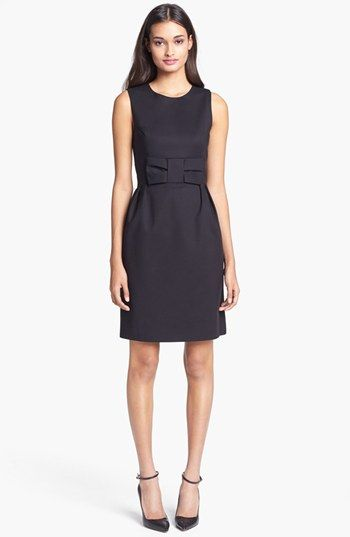 kate spade new york 'nicolette' cotton blend sheath dress available at #Nordstrom