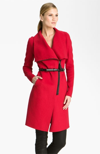 Mackage Belted Zip Front Coat available at #Nordstrom